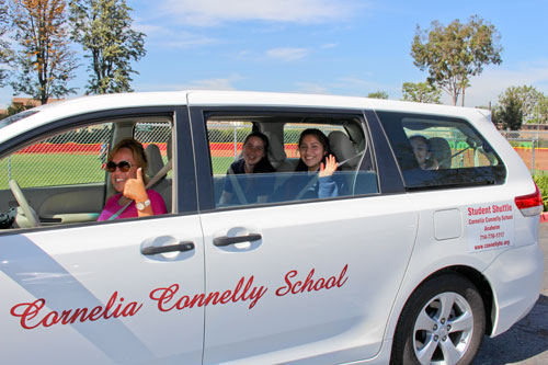 Connelly transportation shuttle