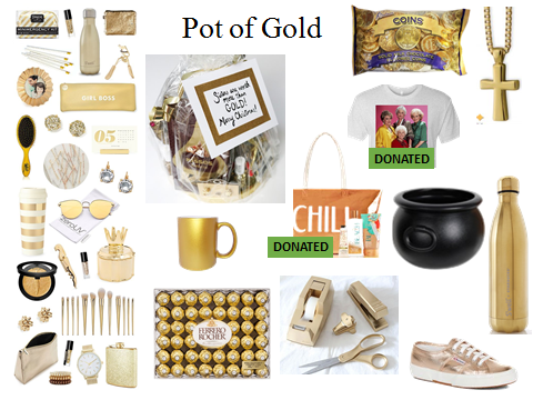 Pot of Gold donation items
