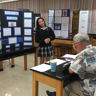Maya - science fair