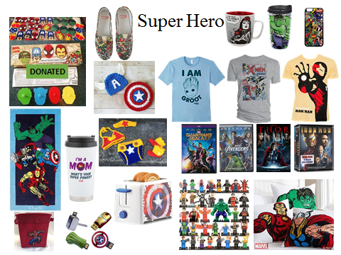 super heroes ideas