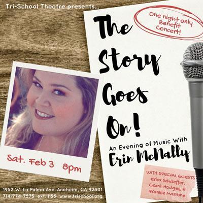 Erin McNally benefit concert