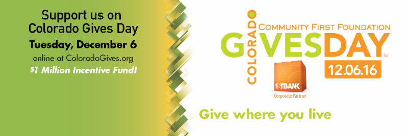 Support us on Colorado Gives Day