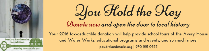 Donate now and open the door to local history