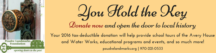You Hold the Key. Donate now and open the door to local history.