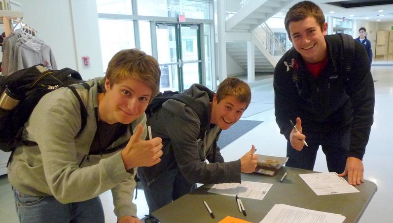 LWV Sudbury HS Voter Registration