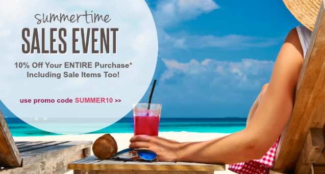 Summertime Sales Event
