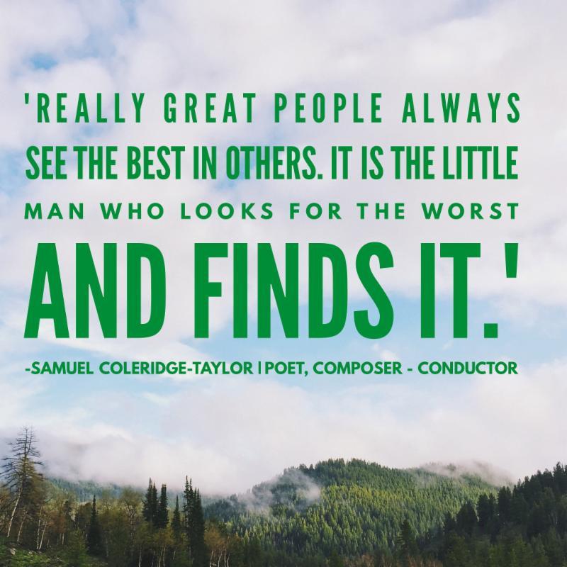 Samuel Coleridge Taylor Quote