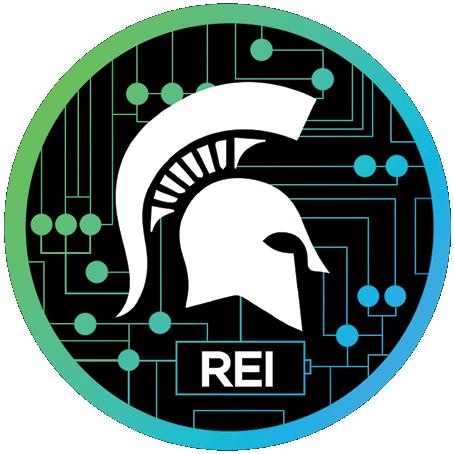 REI. MSU Regional Economic Innovation Logo.