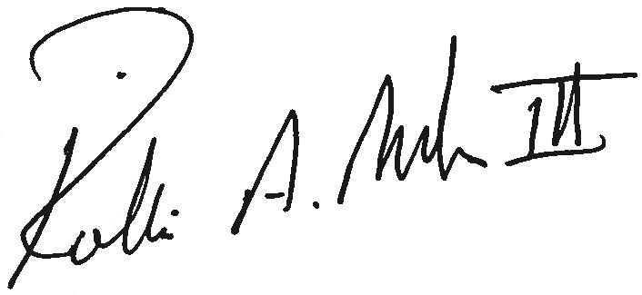 Rollie Miller's signature