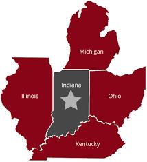 Neighboring States: OH, IL, MI, KY