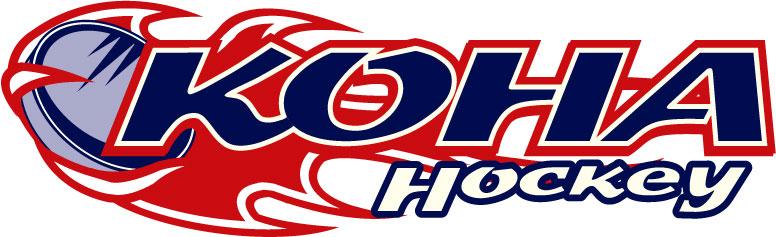 KOHA Flaming Puck Logo