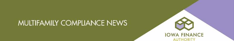 Multifamily Compliance News Header