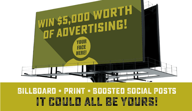 Win $5,000 Worth of Advertising!