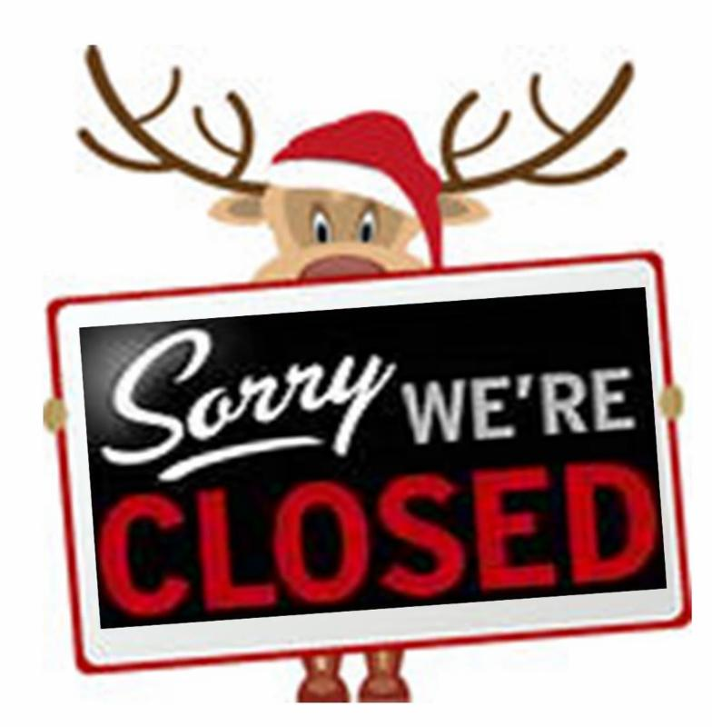 we are closed for christmas day - Closed For Christmas