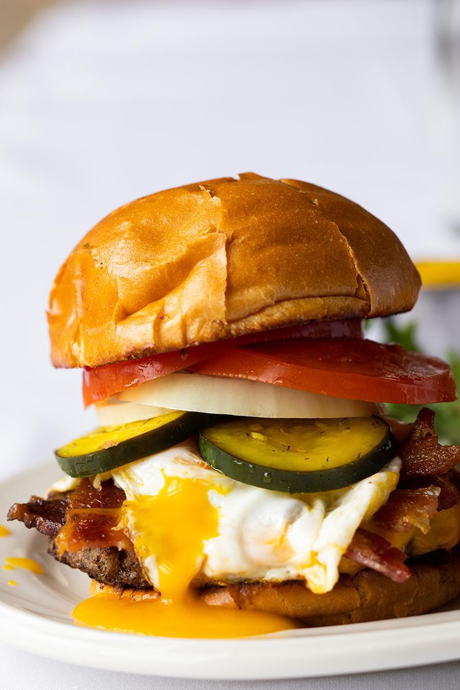 Water's Edge Breakfast Burger