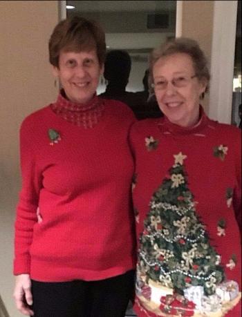 Holiday Party Mary and Martha