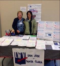El Civics Conference Marie Arnold and Liz BogatinStarr