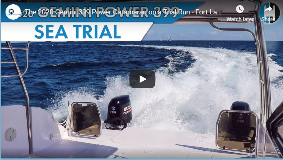 catamaran power