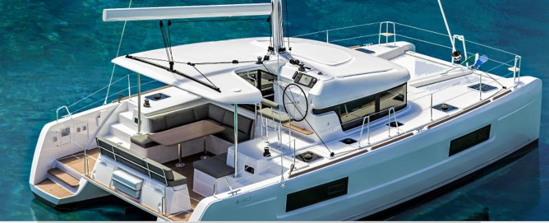 The New Lagoon 40 is coming soon.