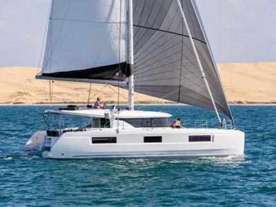 luxury pre-owned catamarans