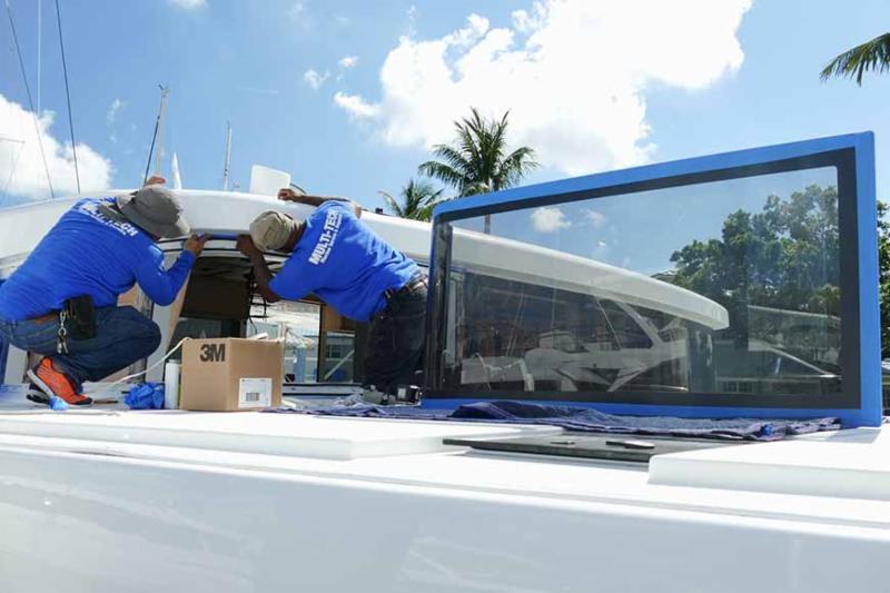 catamaran repairs