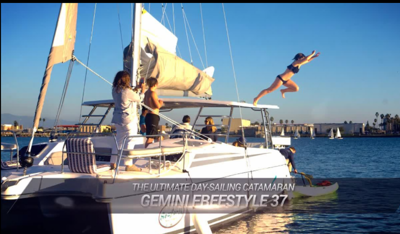 Gemini Freestyle 37: Perfect Platform to Spring Into Day Sailing