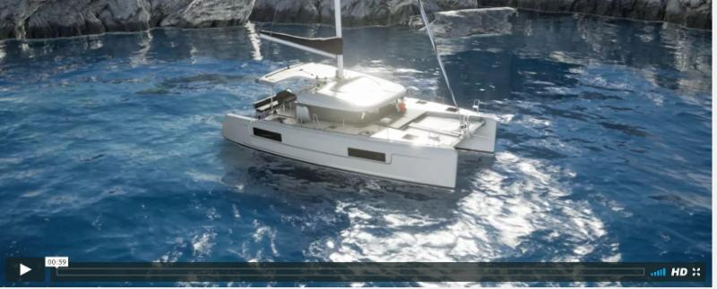 The New  Lagoon 40 and Lagoon 50  will be on display during Miami boat Show, FL 2018