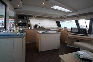catamaran galley