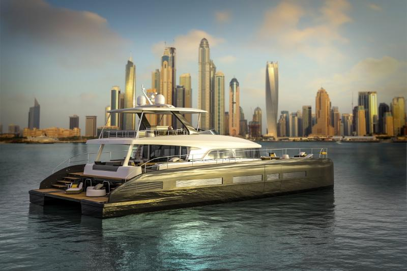 The Biggest Show In Europe debuts Lagoon Seventy 8 Motor Yacht