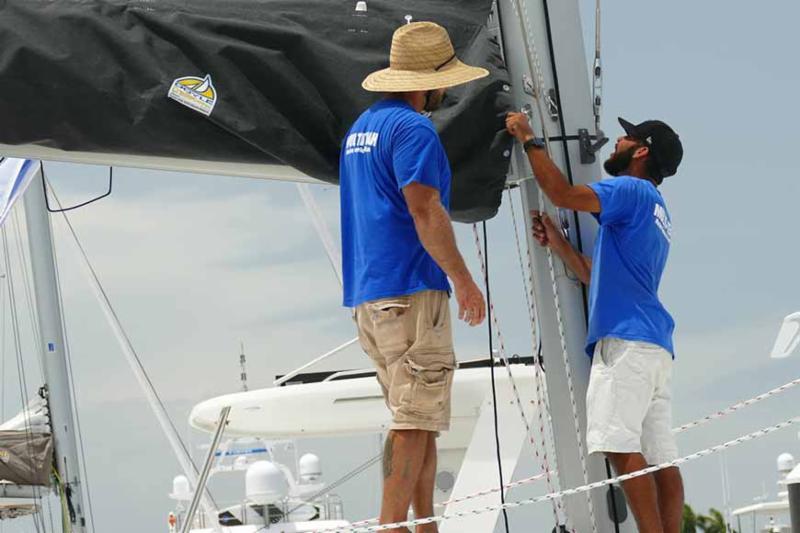 catamaran maintenance