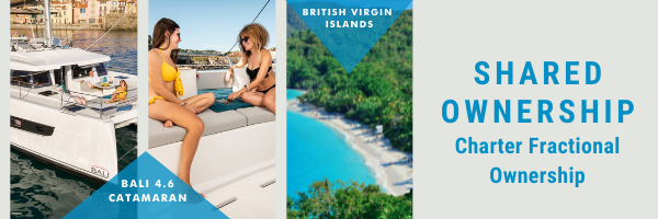 Fractional Charter Ownership is Back!  Own a 20% Share Aboard the New Bali 4.6 in BVI