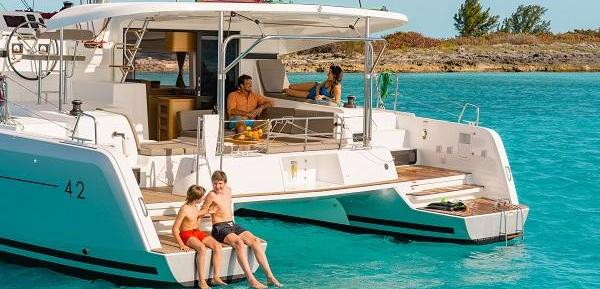 Sail It Forward in BVI and get Charter Business Plans for Lagoon Catamarans during Annapolis Boat Show, 2017.