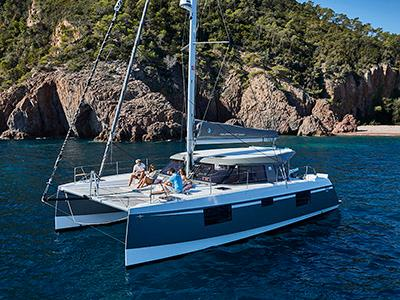 He has a wife, you know - Pre-Owned Nautitech Catamarans For