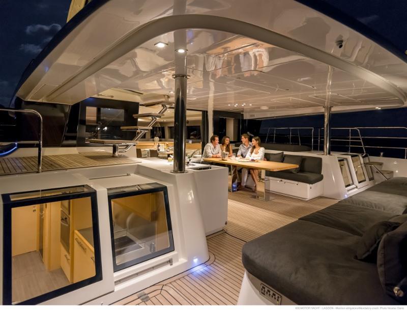 Lagoon Catamarans at Palm Beach Boat Show,FL