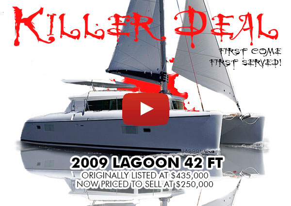 KILLER DEAL: 2009 Lagoon 420