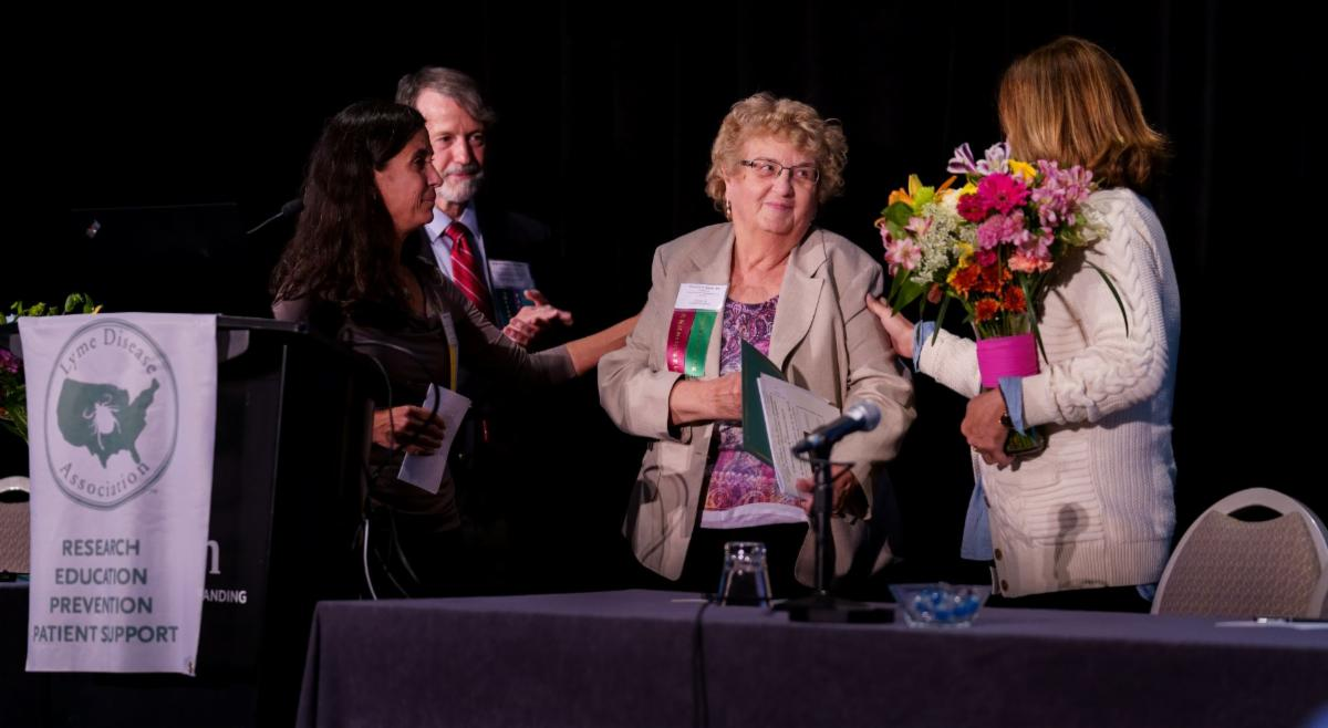 Pat Smith receives honor at 2019 Conference