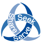 Trinity Knot Seek Serve Share