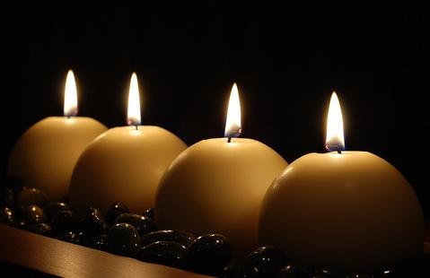 meditation candles