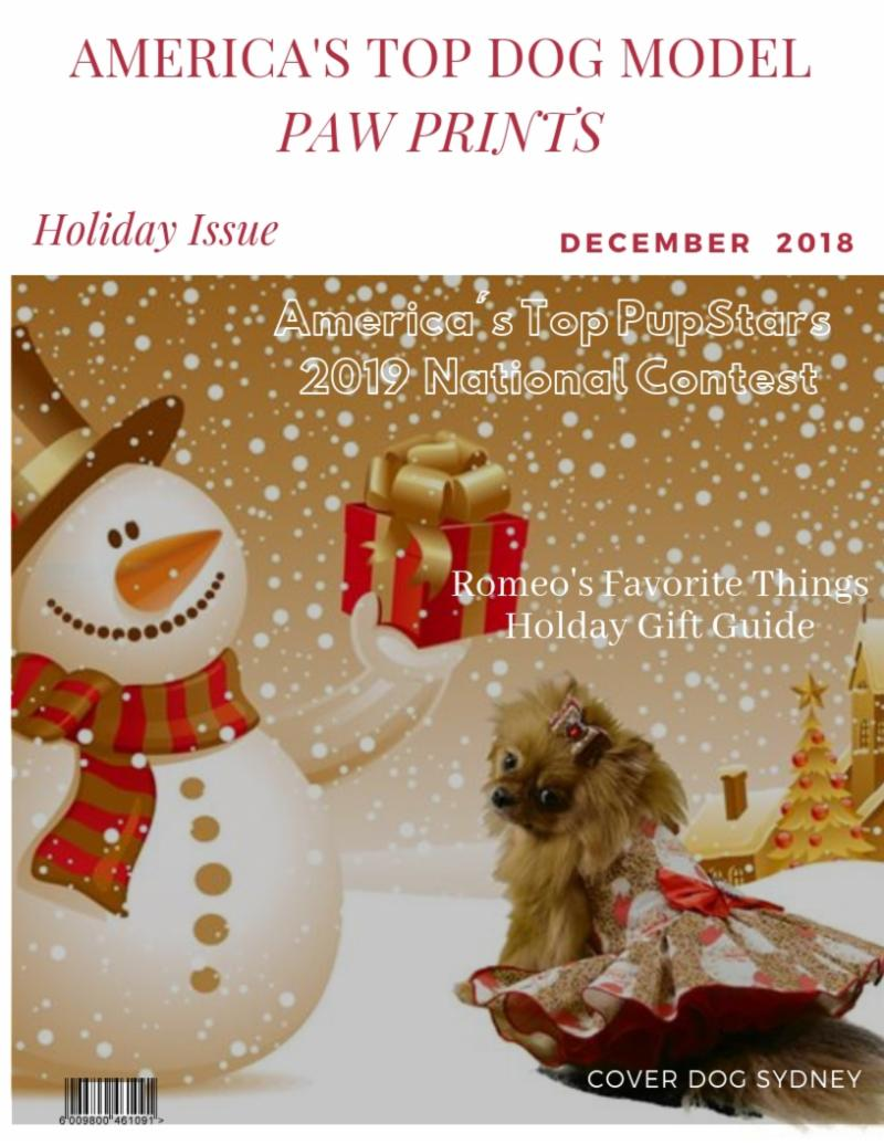 Paw Prints Holiday Issue
