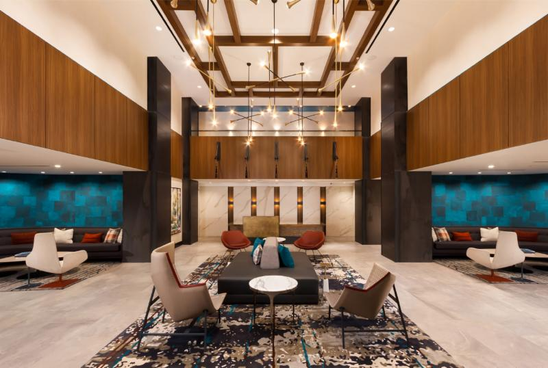 Equity Residential partnered with Hartman Design Group to transform 1800 Oak Street Apartments in Rosslyn VA to a Class A apartment community that competes ... & Interior Design Blog | Hartman Design Group
