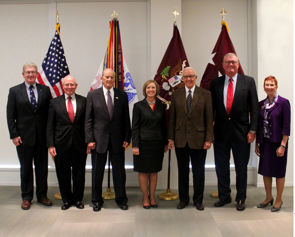 US Army Surgeons turn out in support of the Former AMEDD Senior Strategic Leaders meeting on Oct. 20, 2014.