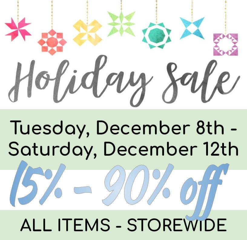 December Holiday Sale flyer