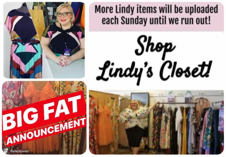 Lindy West's Closet