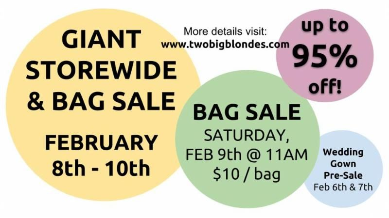 storewide sale info