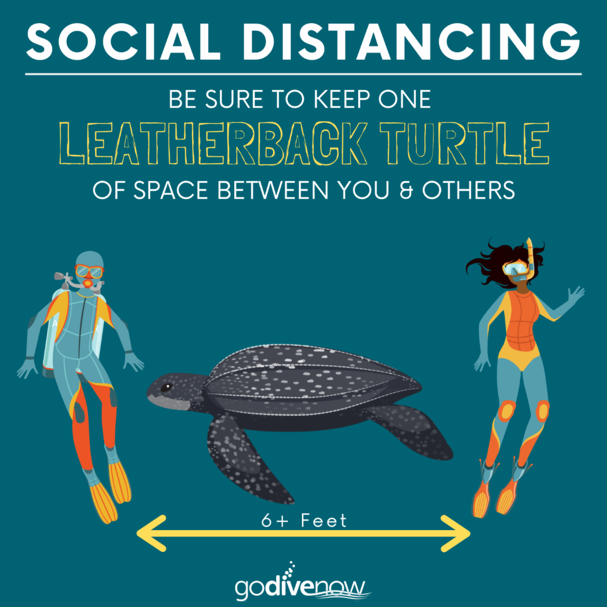 New social distancing shareable image
