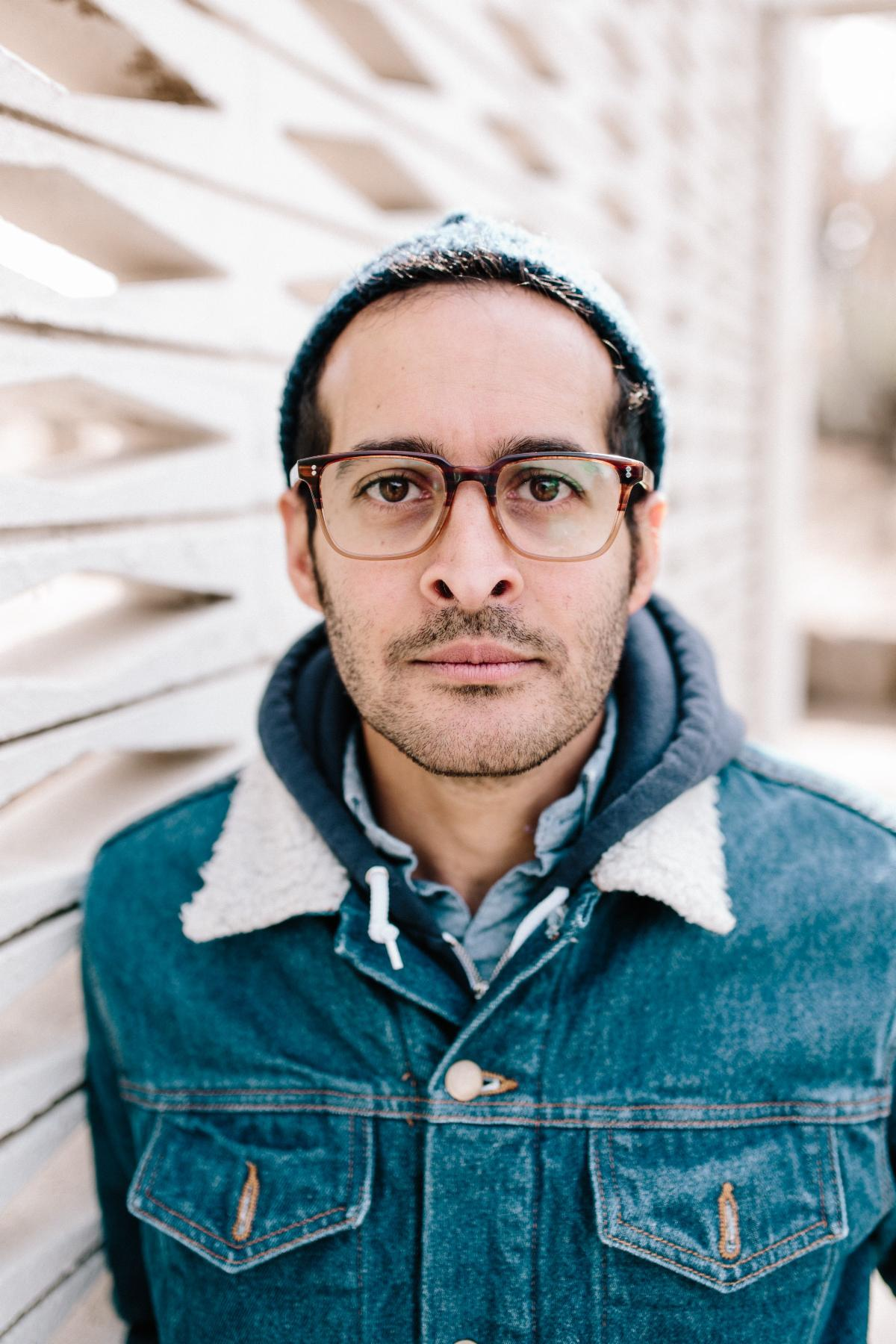 Newly appointed Oregon Poet Laureate Anis Mojgani
