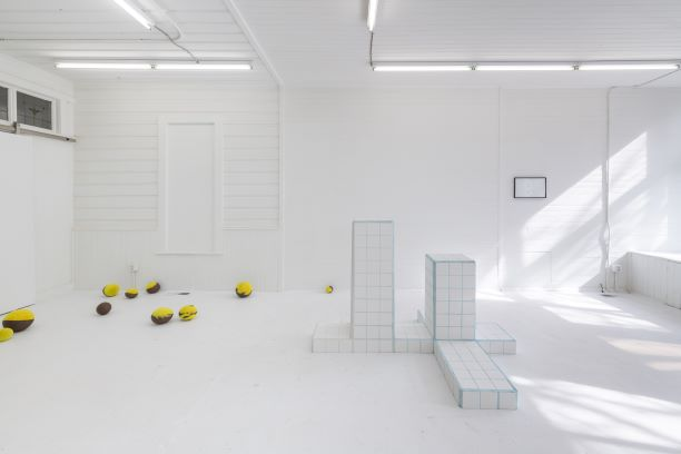 "sidony o'neal, ""And Now, Square Trees,"" Installation View, Fourteen 30, 2019"