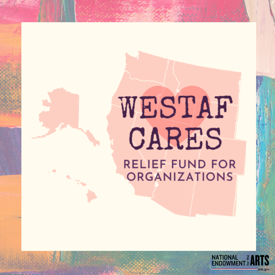 WESTAF cares relief fund for arts organizations
