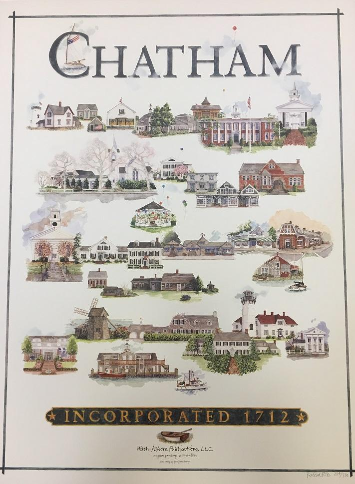 Chatham Poster by Kassie Foss