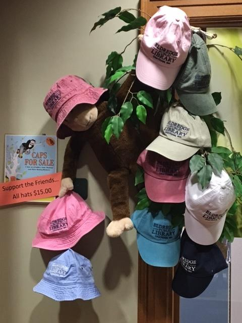 Library Caps for Sale
